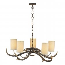 Antler Ceiling Light - 5 Light