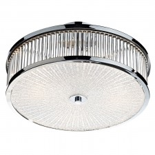 Aramis 3 Light Glass Flush
