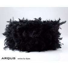 Diyas Arqus Feather Shade Black 410mm