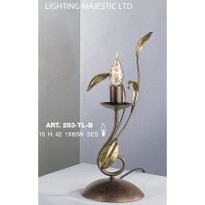 JH Miller - Isabella Table Lamp - Chestnut Brown