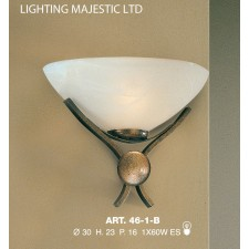 JH Miller - Dorchester Wall Light = Brushed Bronze