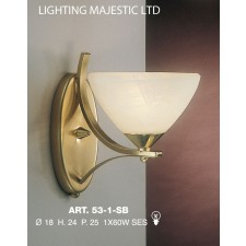 JH Miller - Dorchester Wall Light - Brass