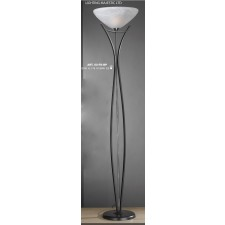 JH Miller - Dorchester Floor Lamp - Black & Chrome