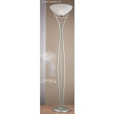 JH Miller - Dorchester Floor Lamp - Satin Chrome