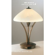 JH Miller - Dorchester Table Lamp - Brushed Bronze (Large)