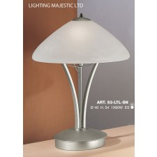 JH Miller - Dorchester Table Lamp - Satin Chrome (Large)