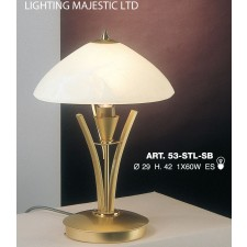 JH Miller - Dorchester Table Lamp - Brass (Small)