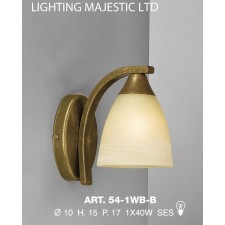 JH Miller - Dorchester Wall Light - Brushed Bronze