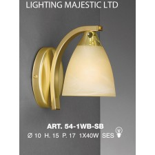 JH Miller - Dorchester Wall Light - Satin Brass