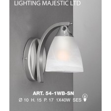 JH Miller - Dorchester Wall Light - Satin Chrome