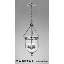 Diyas Aubrey Pendant 4 Light Polished Chrome