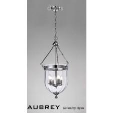 Diyas Aubrey Pendant 4 Light Polished Chrome