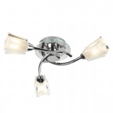 Austin Ceiling Light - 3 Light Polished Chrome