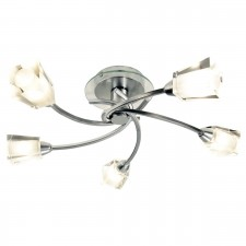 Austin Ceiling Light - 5 Light Polished Chrome