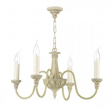 Bailey 4 Light Chandelier Cr