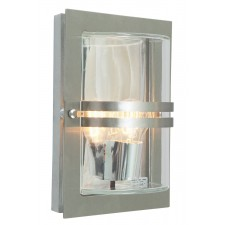 Norlys BASEL E27 S/S C Basel Wall Light E27 Stainless Steel Clear