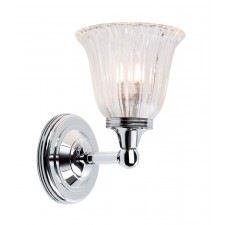 Elstead BATH/AUSTEN1 PC Austen1 Wall Light Polished Chrome