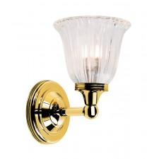 Elstead BATH/AUSTEN1 PB Austen1 Wall Light Polished Brass