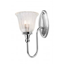 Elstead BATH/BLAKE1 PN Blake1 Wall Light Polished Nickel