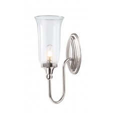 Elstead BATH/BLAKE2 PN Blake2 Wall Light Polished Nickel