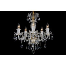 Bohemian BCC05B Crystal Chandelier - 5-Light