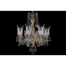 Bohemian BCC08DT Crystal Chandelier - 8-Light