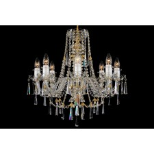 Bohemian BCC08KN Clear Crystal Chandelier - 8-Light