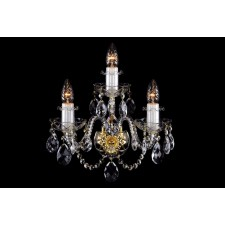 Bohemian W-03 Neutral Crystal Wall Light - 3-Light