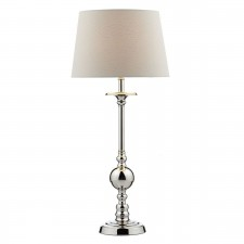 Dar Becker Table Lamp Polished Nickel
