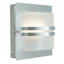 Norlys BERN E27 GAL C Bern Wall Light E27 Galvanised Clear