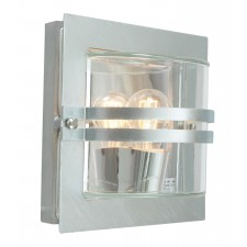 Norlys BERN E27 GAL F Bern Wall Light E27 Galvanised Frosted