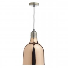 Dar Bilbao 1-Light Pendant Copper