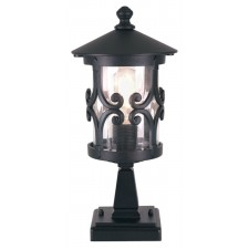 Elstead BL12 BLACK Hereford Pedestal Lantern