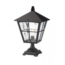 Elstead BL33 BLACK Edinburgh Pedestal Lantern
