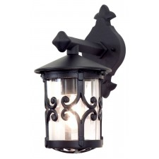 Elstead BL8 BLACK Hereford Wall Up Lantern