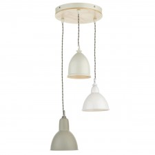 Blyton Multiple Ceiling Pendant - 3 Light, Complete with Shades