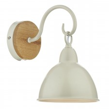 Blyton Single Wall Light - Cream