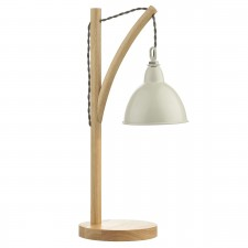 Blyton Table Lamp - Complete with Cream Shade