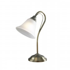 Boston Table Lamp - Antique Brass
