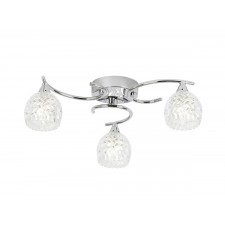 Boyer 3 Light Ceiling Light - Chrome