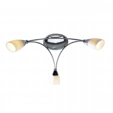 Bureau Ceiling Light - 3 Light Polished Chrome