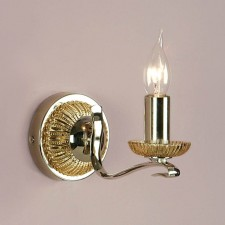 Interiors1900 Venetia Nickel Single Wall Light