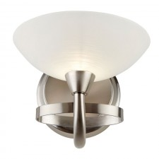 Cagney Wall Light - Satin Chrome