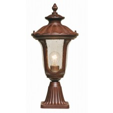 Elstead CC3/S Chicago Pedestal Lantern Small