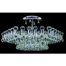 Impex Ancona Ceiling Light Chrome - 6 Light