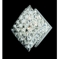 Impex Diamond Wall Light - 1 Light, Polished Chrome