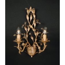 Impex Italiano Wall Light Gold - 2 Light