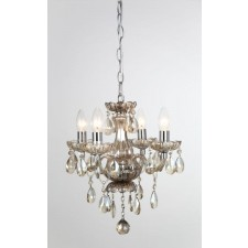 Impex Rodeo Chandelier - 4 Light, Polished Chrome