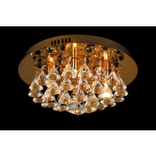 Impex Parma Ceiling Light Gold - 4 Light, Gold