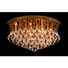 Impex Parma Ceiling Light Gold - 6 Light, Gold